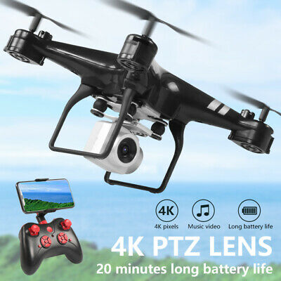 HD Camera Quadcopter RC 2.4G 4CH Drone Wide Angle Lens WiFi FPV Helicopter Hover