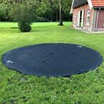 Trampoline Afdekhoes Flat To The Ground 251 cm Black
