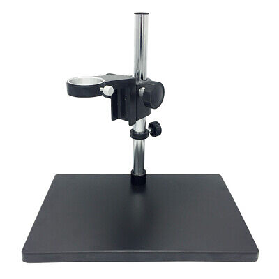 Video Microscope Adjustable Boom Large Stereo Arm Table Stand 50 Mm Ring Holder