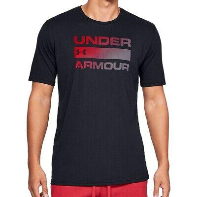 Under Armour Wordmark SS Tee - Herren Funktionsshirt Fitness 1329582-002 ()