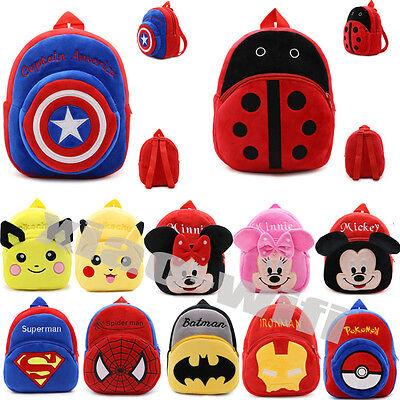 Animal Cartoon Shoulder Bag Kindergarten Schoolbag Backpack For Toddler Kids - Cartoons For Toddlers