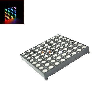 5mm 88 8x8 Full Colour Rgb Led Dot Matrix Display Module Common Anode
