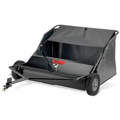 """Brinly STS-42LXH Lawn Sweeper 42"""" Tow Behind 20 Cubic Feet"""