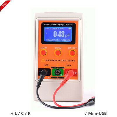 M4070 Automatic Ranging Lcr Meter Tester Handheld Inductance Capacitance Meter