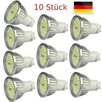 GU10 LED Spot Reflektor Strahler LED-Lampen Leuchtlampe Dimmbar Warmweiß 10x 4x