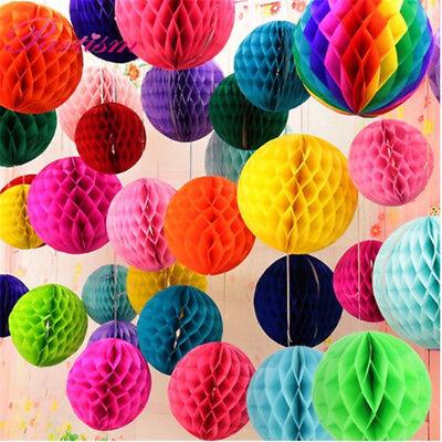 5Pcs 15 cm Tissue Paper Lantern Honeycomb Ball For Home Wedding Party Decoration](Honeycomb Wedding Decorations)
