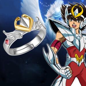 Anime Saint Seiya: Legend of Sanctuary 925 Silver Ring Cosplay Adjustable USA
