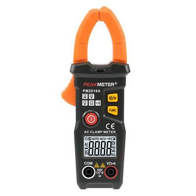 Peak-meter Pm2016a Mini Digital Amp Clamp Meter Multimeter Acdc Peakmeter Cat3
