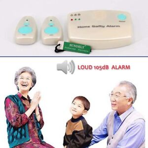 Safety Alert Care Call Alarm Patient Medical Home Child Elderly Panic Pendant UK