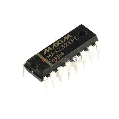 5pcs Max232epe Max232 Dip-16 Maxim Chip Ic