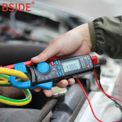 Bside Acm91 1ma Auto-ranging Acdc Low Current Digital Clamp Meter Ncv Temp