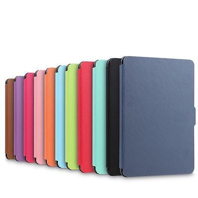 Smart Magnetic Wake Sleep PU Leather Case Cover For Amazon Kindle Paperwhite