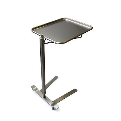 Stainless Steel Thumb Control Mayo Stand 16.25 W X 21.25 L Tray Size 1 Ea