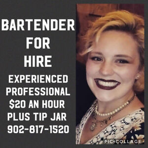 Special events bartender for hire