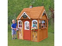 High Quality Cedar Summit Stoney Creek Wooden Playhouse Wendy House Cafe Kitchen