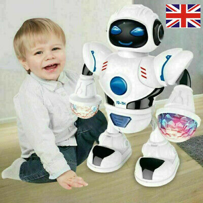Toys For Boys Kids Music Dancing Robot for 2 3 4 5 6 7 8 9 10 11 Years Age Gifts