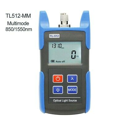 Tl512 Handheld Fiber Optical Light Source Tester Dual Wavelength Mm 8501550nm