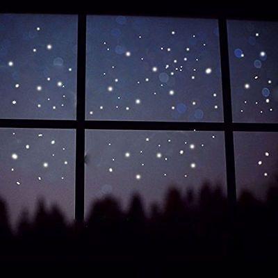 400X Glow in The Dark Star Round Dot Luminous Wall Stickers Kid Room DIY Decor # (Glow In The Dark Stars Stickers)