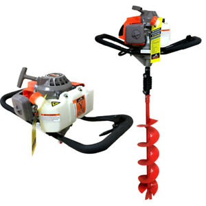 Earth auger Post hole auger 63cc fence hole digger
