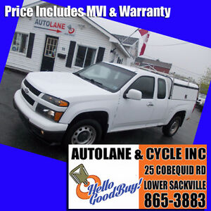 2012 Chevrolet Colorado LT Ext Cab Sharp Little Truck $8995