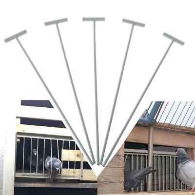 5pcs Bird Racing Pigeon Cage Door Iron Wire Entrance Wire Trap Door Curtai