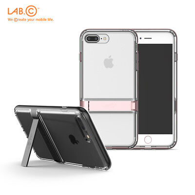 LabC Korea Dual Protection Crystal Clear Phone Cover Case for iPhone 7/8 7/8Plus Crystal Protection Phone Case