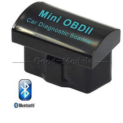 V2.1 Mini ELM327 OBD2 II Bluetooth Diagnostic Car Auto Interface Scanner Top