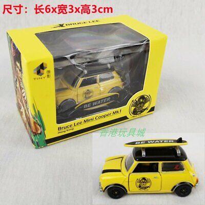 TINY HONG KONG BRUCE LEE 1:50 MINI COPPER MK1 DIECAST CAR MODEL 103360-USA SELL
