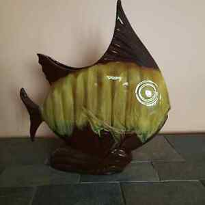 Blue Mountain Pottery Harvest Gold Angel Fish