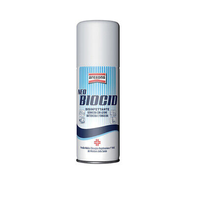 Disinfettante Igienizzante Auto Arexons 4155 Neo Biocid - Battericida 150 ml