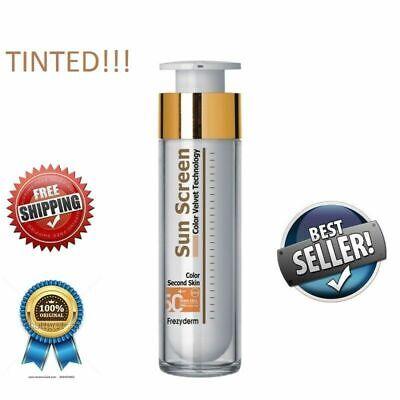 FREZYDERM Sun Screen Color Velvet Face Cream SPF50+ 50ml, BEST SELLER
