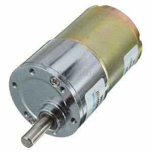 12V-DC-300RPM-High-Torque-Motoriduttore-Velocita-Controllo-Elettrico-Motore