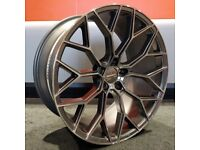 "20"" Veemann V-FS66 Wheels & Tyres 5x120 for a BMW 3 Series and 4 Series"