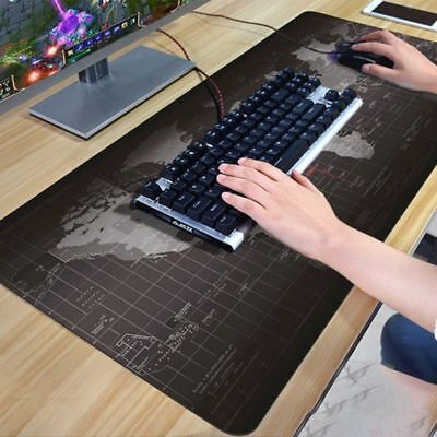 New Extended Gaming Mouse Pad Large Size Desk Keyboard Mat 900MM X 400MM