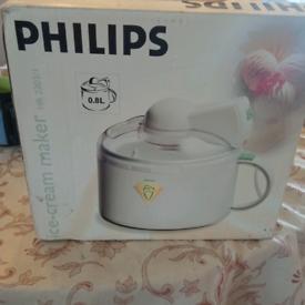 Philips ice cream maker £5