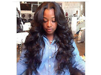 Get your weave done for £25 sewin weave Hair extensions Afro-Caribbean Caucasian European