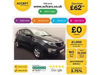 Kia Sportage FROM £62 PER WEEK!