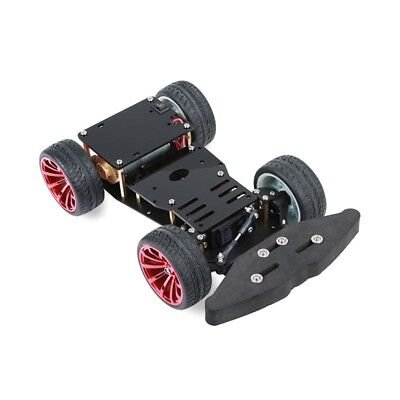 4wd Rc Smart Car Metal Chassis Platform With S3003 Metal Servo Bearing Kit