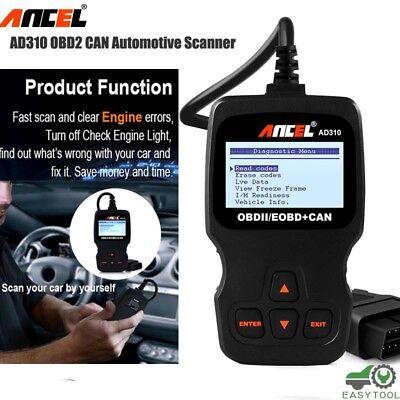 OBD2 Auto Scanner Car Live Data Code Reader Engine Check Dia