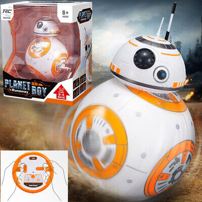 2.4G RC Remote Control Robot Star Wars BB-8 Ball  Sound Action Figure Toys Gifts