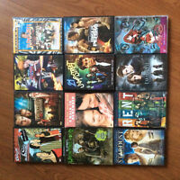 DVDS of Feature FIlms and Seasons