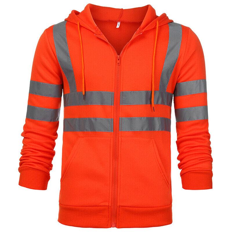 High visibility sweatshirt chubb alarm monitoring