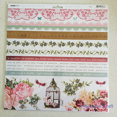 Kaisercraft 12x12 Sticker Sheet Collection Christmas theme 24 selections - Oh So Lovely