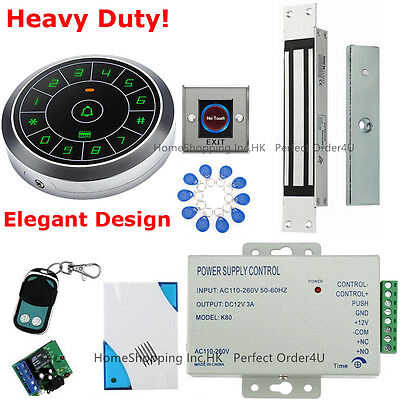 US Waterproof RFID Card+Password Door Access Control System+Magnetic Door Lock