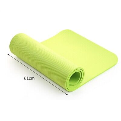 4mm Yoga Mat Gym Camping Non-Slip Fitness Exercise Pilates Meditation Pad US 6
