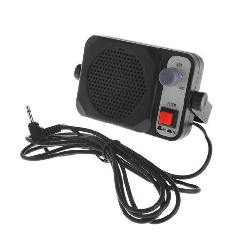 Heavy Duty TS-650 Mini External Speaker For YAESU ICOM KENWO