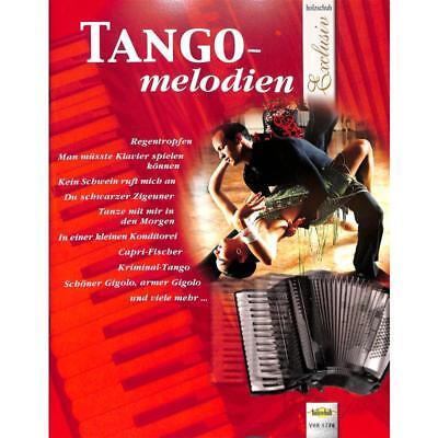 Akkordeon Noten- TANGO-MELODIEN - - für Akkordeon im mittelschweren Bereich