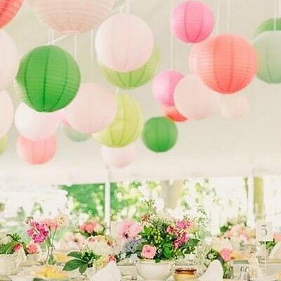 Lampions Papierlaternen Kugel Lampenschirme rund Hochzeit Deko Laterne Halloween