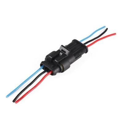 123456 Pin Car Waterproof Male Female Electrical Connector Plug With Wire