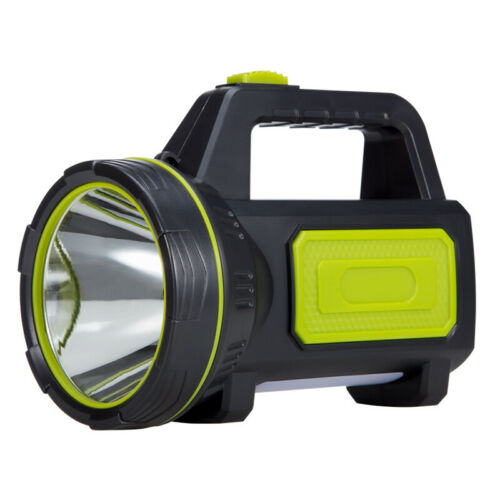Super Bright Searchlight Handheld Portable Spotlight USB Rec